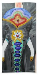 Chakra Elephant Hand Towel