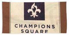 Champions Square Bath Towel