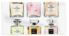 Coco Chanel Bath Towels
