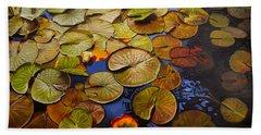 Change Of Season Hand Towel by Thu Nguyen