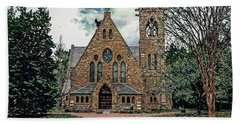 Chapel At University Of Virginia Hand Towel by Jerry Gammon