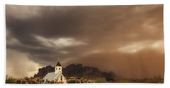 Chapel In The Storm Hand Towel