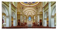 Hand Towel featuring the photograph Chapel Of The Immaculate Conception by Jim Thompson
