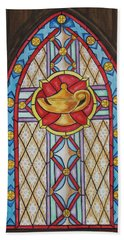 Chapel Window Hand Towel