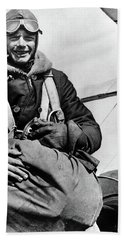 Charles Lindbergh (1902-1974) Bath Towel by Granger