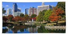 Charlotte North Carolina Marshall Park Bath Towel