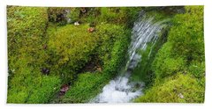 Hand Towel featuring the photograph Chasing Waterfalls by Marilyn Wilson