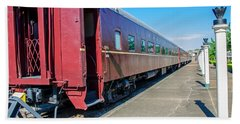 Hand Towel featuring the photograph Chattanooga Choo Choo 1 by Susan  McMenamin