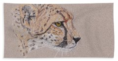 Cheetah Bath Towel by Stephanie Grant
