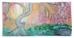 Cherry Blossom Hand Towel