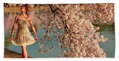 Cherry Blossoms 2013 - 082 Hand Towel
