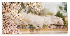 Bath Towel featuring the photograph Cherry Blossoms In Washington Dc by Vizual Studio