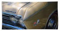 Chevrolet Chevelle Ss Headlight Emblems Hand Towel