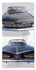 Chevrolet Impala 1959 Front And Rear Bath Towel