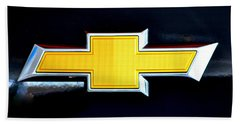 Chevy Bowtie Camaro Black Yellow Iphone Case Mancave Hand Towel