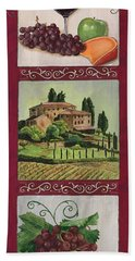 Chianti And Friends Collage 1 Hand Towel
