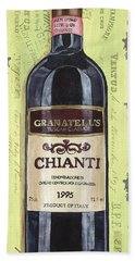 Chianti And Friends Panel 1 Bath Towel