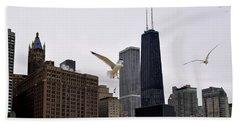 Chicago Birds 2 Hand Towel