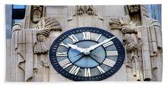 Chicago Board Of Trade Building Clock Hand Towel