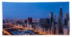 Chicago Dawn Hand Towel