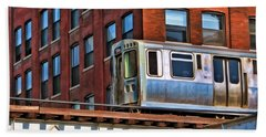 Chicago El And Warehouse Hand Towel