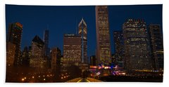Chicago Lights Hand Towel