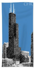 Chicago Sears Tower - Slate Hand Towel