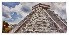Chichen Itza Bath Towel