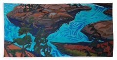 Chickanishing Creek Bath Towel by Phil Chadwick