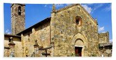 Hand Towel featuring the photograph Chiesa Di Santa Maria Assunta by Fabrizio Troiani