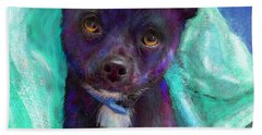 Hand Towel featuring the digital art Chihuaua by Jane Schnetlage