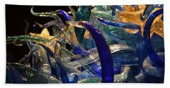 Chihuly-3 Hand Towel by Dean Ferreira