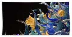 Chihuly-4 Hand Towel by Dean Ferreira