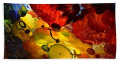 Chihuly-5 Hand Towel by Dean Ferreira