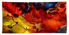 Chihuly-6 Hand Towel by Dean Ferreira