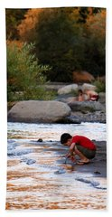 Bath Towel featuring the photograph Childs Play by Melanie Lankford Photography