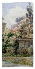 China Roses Villa Imperiali Genoa Hand Towel