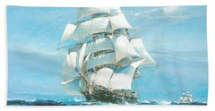 China Tea Clippers Race Bath Towel