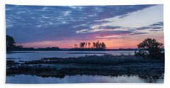 Chincoteague Wildlife Refuge Dawn Bath Towel by Photographic Arts And Design Studio