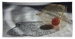 Chinese Lantern Plant - B Hand Towel