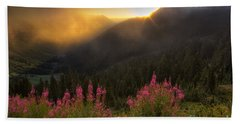Chinook Pass Sunrise II Bath Towel