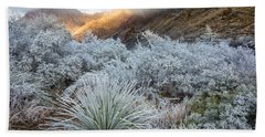 Chisos Winter Morning Hand Towel