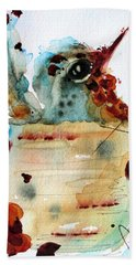 Chloe Nesting Bath Towel by Dawn Derman