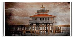 Choptank River Lighthouse Bath Towel