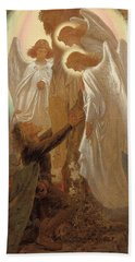 Christian At The Foot Of The Cross Hand Towel
