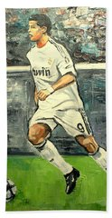 Christiano Ronaldo Bath Towel