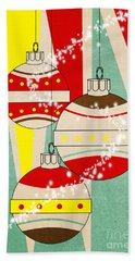 Christmas Card 6 Bath Towel