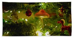 Hand Towel featuring the photograph Christmas Card by Cassandra Buckley