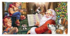 Christmas Carols Hand Towel