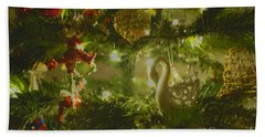 Hand Towel featuring the photograph Christmas Cheer by Cassandra Buckley